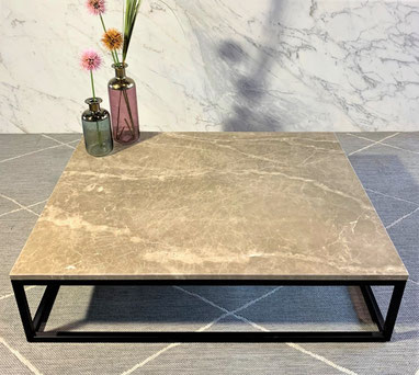 Monaco Brown marble luxury center table