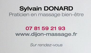 Praticien massage bien-être