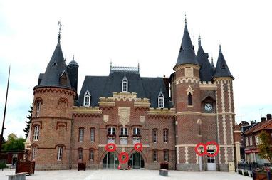 (DR-René Ossart) Château de Corbie-Val de Somme- CASA Chambres d'hôtes-Amiens