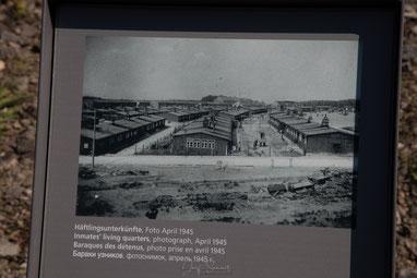 Unterbringung der Häftlinge in ehemaligen Pferdeställen