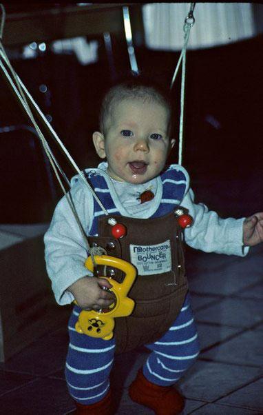 Baby in Türhopser, Ich im Türhopser 1984