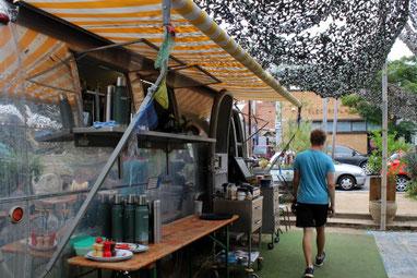 Der Grub Food Van in Fitzroy, Melbourne, Australien