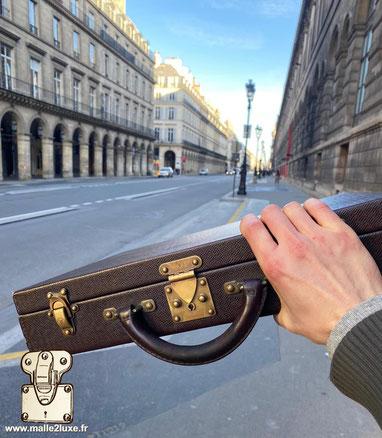Valise a montres Louis Vuitton Rolex
