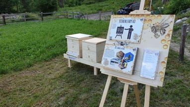 """Vorstellung der Fotobeute und der Lehrtafeln des Bienenlehrpfades """"ToGo"""""""