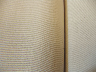 Baumwollköper, roh, 160 cm breit