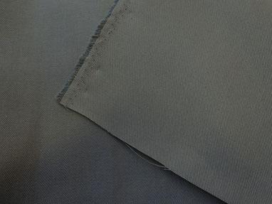 Graphitgrauer Köper aus reiner Baumwolle