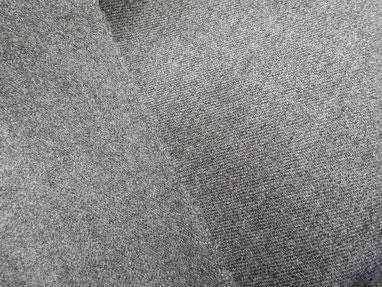 Wolle - Gabardine in grau