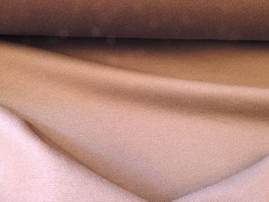 Trikot-Jersey aus Baumwolle in hautfarben