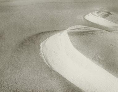 ꧁ ©Vincent Monthiers, Dune du Pilat, Hiver 1984 ꧂