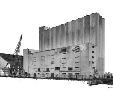 Figura 4. Nube de puntos del edificio