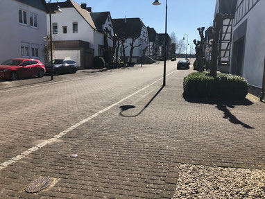 Leere Straßen prägen meinen Heimatort