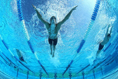 Individuelles Schwimmtraining für das Erwerben der korrekten Schwimmtechniken, Schwimmschule