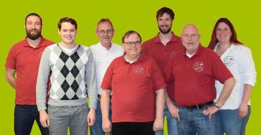 Von Links: Johannes Bschorer Beirat,  Christian Spingler Kassierer; Clemens Hofer 1. Vorstand; Peter Pawera Schriftführer; Fabian Sailer 2. Vorstand; Bernd Hofer Beirat; Julia Sailer Beirat
