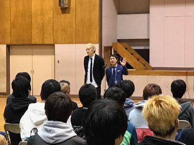 名古屋お笑い芸人 ファニーチャップ 学園祭で漫才