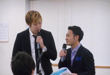 名古屋お笑い芸人 ファニーチャップ 中日ハウジングセンターで漫才