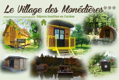 Village des Monédières - Camping Corrèze - Chamberet -balade moto corrèze - circuit à moto sur le plateau de Millevaches - circuit à moto en Corrèze - Moniteur guide de pêche en Corrèze - Séjour pêche