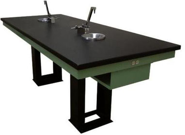 Mobiliario capfce para laboratorio mesa central capfce for Mobiliario y equipo