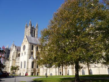 Teilansicht der Kathedrale von Canterbury
