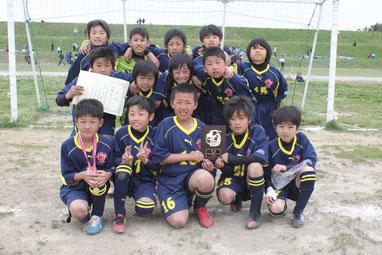 成田市春季大会(4年生) 成田SSS優勝