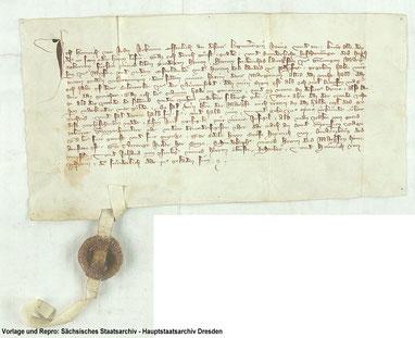Urkunde vom 09.Oktober.1333