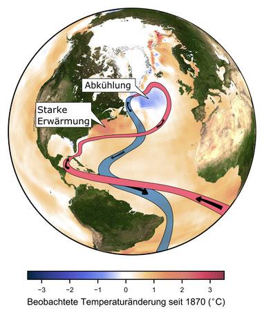 Die Verlangsamung des Golfstroms