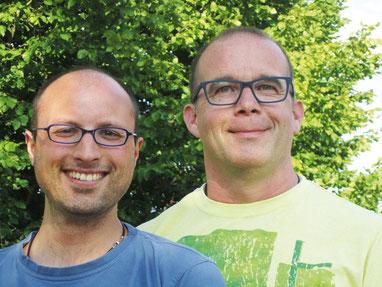 Ein perfektes Team - ganz gleich ob Küche, Theke oder Gastraum: Stefan Öhlschläger (links) und Achim Hirt.