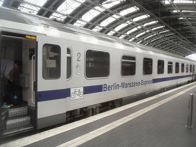 Berlin-Waschau-Express in Berlin, Foto: Jivee Blau (Wikipedia)