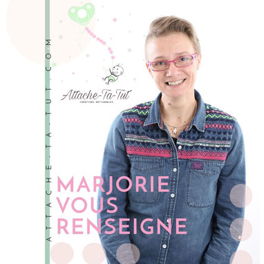 Marjorie Monchal,  Attache-Ta-Tut.