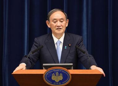 5月28日の新型コロナウイルスに関する首相記者会見(出典:首相官邸ホームページ)