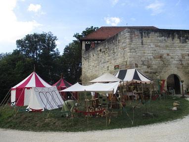 Unser Lager an der Wäscherburg