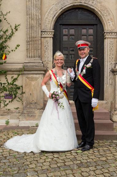 König Dieter Broschinski mit seiner Königin Elke Broschinski