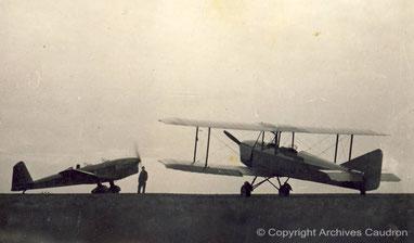 L'avion de tourisme sport et le Luciole