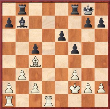 Milde - Rittel: Es folgte 20. ... Tfe8 21. Td6 Lc8 22. Tc6 Kf7 23. Txc5 Td8 24. Txf5+ Kg6 25. Te5 Td2+ 26. Te2 +/-
