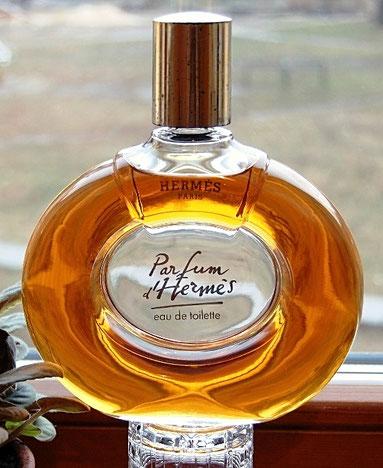 PARFUM D'HERMES - EAU DE TOILETTE : FLACON 1ère TAILLE