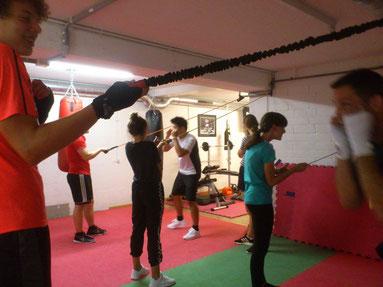 JUGI-Stettlen Schnuppertraining Light-Contact Boxing, Juni 2019 - M's-Gym Bern Ittigen