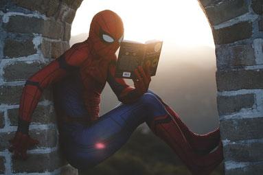 spiderman apprend sur l eczema