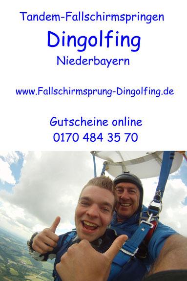 Fallschirmsprung Bayern