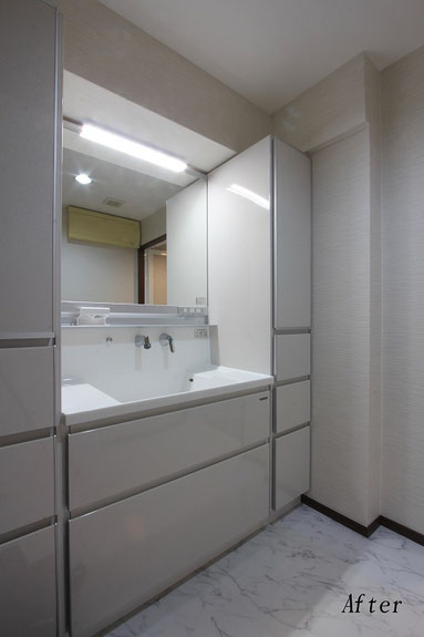 ホーロー洗面化粧台(タカラ ファミーユ)