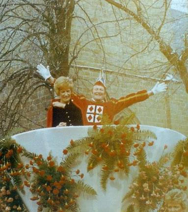 1979 Prinz Willi Dahlhoff II. Prinzessin Karin Woll I.