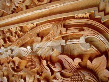 Bauholzschnitzerei