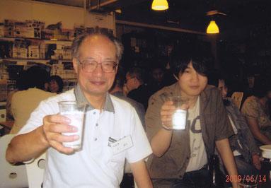 OBさんと乾杯!