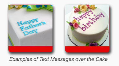 cake message