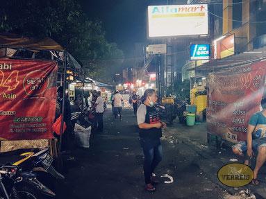 Auf den Strassen Jakartas