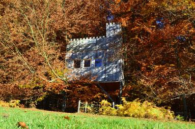 Baumhaus Burg, Bild: Baumhaushotel Solling