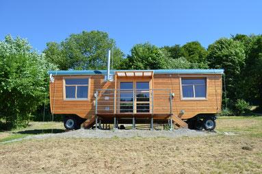Konferenzwagen, Sommer, Baumhaushotel Solling