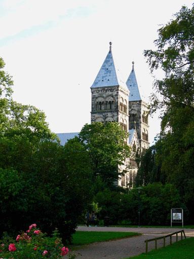 Dom in Lund, Schonen, Südschweden