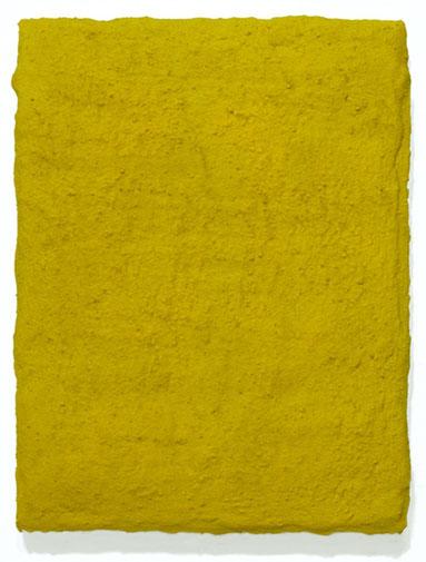 Matthieu van Riel. Schilderij. Zonder titel 24,5x18,5cm cement en pigment op canvas 2006