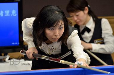西本優子 ※写真は2014全日本選手権にて
