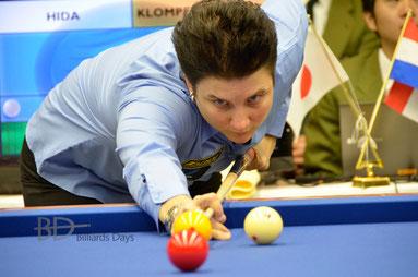 新世界女王、T・クロンペンハウワー ※写真は2012年世界選手権(東京大会)にて