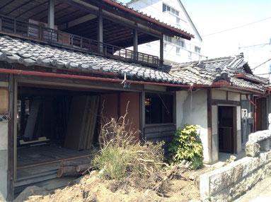 古い民家の解体工事をエンタメ化